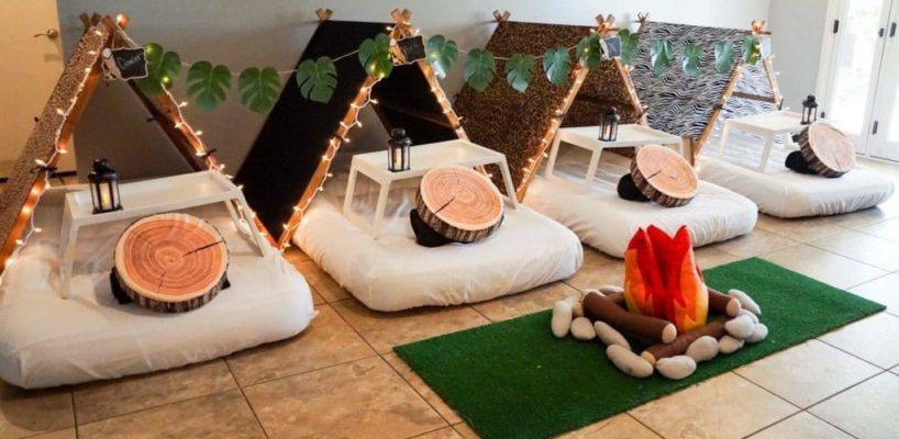 Teepee Party, Glamping sleepovers party, scottsdale party ideas (11)