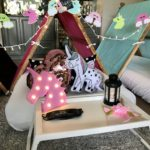 Magical Dreams teepee party theme unicorn party theme fashionable, comfortable, themed teepees for sleepover parties child's sleepover party from ordinary to extraordinary (3)